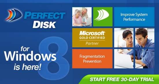 PerfectDisk for Windows 8