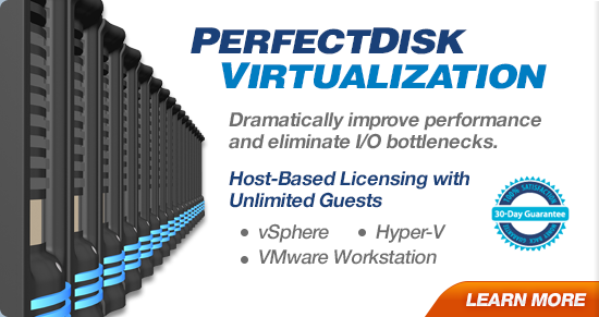 PerfectDisk Virtualization